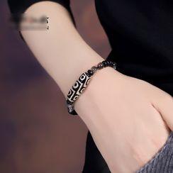 Gangnam - 印花木制饰珠手链
