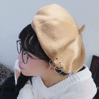 Heloi - 圈環結飾貝雷帽