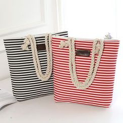 Diamante - Striped Tote Bag