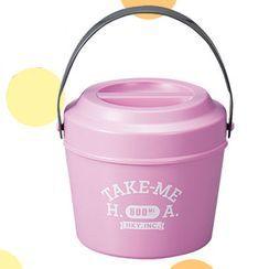 Hakoya - Hakoya Bucket Lunch Box (Take me) (Lavender)