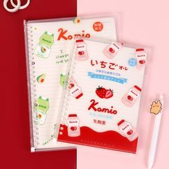 Hekki - Fruit Drink Print A5 / B5 Notebook