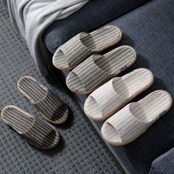 Furana - Striped Slippers