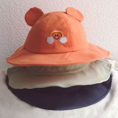 Skylit - Kids  Embroidered Bucket Hat
