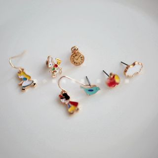 Cometto - Set: Alloy Cartoon Earring (assorted designs)