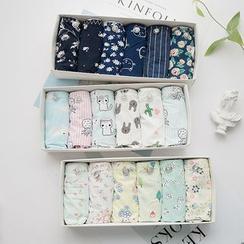 MEOKO - Set of 6: Print Panties