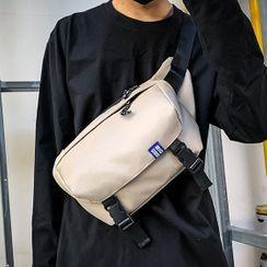 EAVALURE - Nylon Zip Crossbody Bag