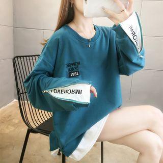 Jewie - Mock Two-Piece  Sweatshirt