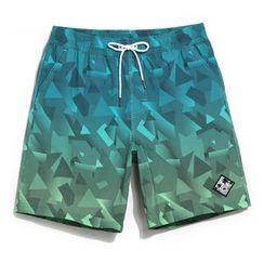 Shorell - Couple Matching Printed Beach Shorts
