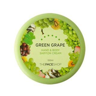 THE FACE SHOP - Green Grape Hand & Body Shiffon Cream 100ml
