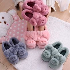 Aisifin - Family Matching Fleece Home Slippers