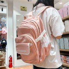 Carryme - 網袋拼接尼龍背包