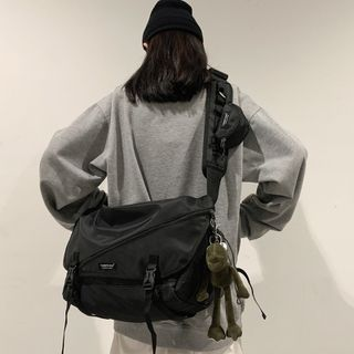 Carryme - Mesh Panel Messenger Bag