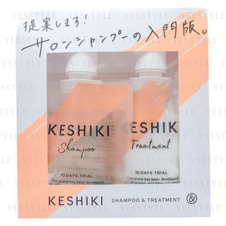 KESHIKI - Shampoo & Treatment Trial Set