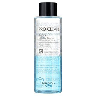 TONYMOLY - Pro Clean Smoky Lip & Eye Remover 250ml