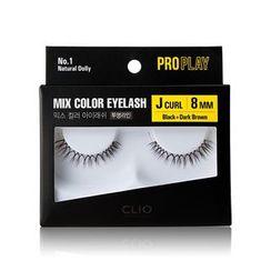 CLIO - Pro Play Mix Color Eyelash #001~006 (6 Types)