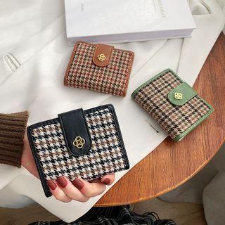 Cipres - Houndstooth Short Wallet