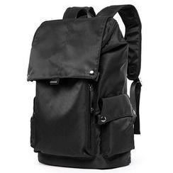 TESU - Flap Cover Nylon Backpack