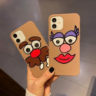 Huella - 3D Cartoon Phone Case For iPhone SE / 7 / 7 Plus / 8 / 8 Plus / X / XS / XR / XS Max / 11 / 11 Pro / 12 Mini / 12 / 12 Pro / 12 Pro Max