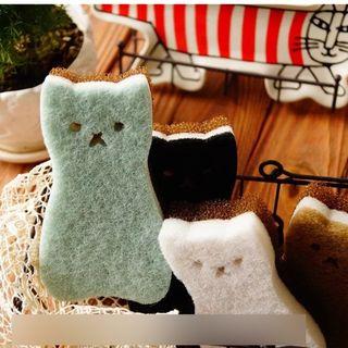 Homy Bazaar - Animal Kitchen Sponge 4pcs