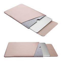 Kinyi  - Color Block Laptop Sleeve