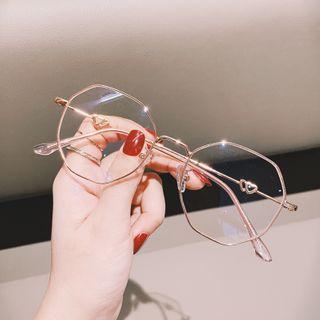 MOL Girl - Octagon Wire Rim Glasses