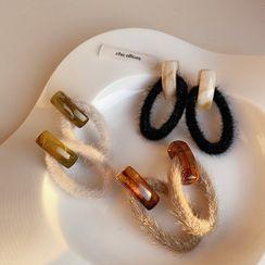 Mojia - Fluffy Drop Earring