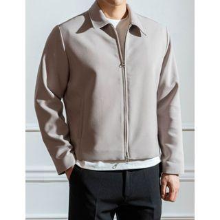 STYLEMAN - Collared Zip-Up Jacket