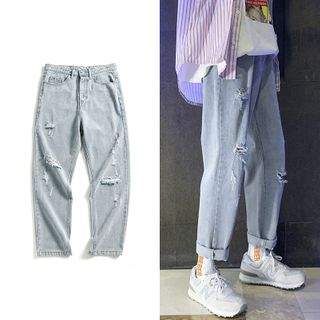 EOW - Ripped Harem Jeans