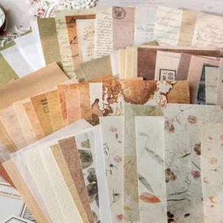 Monez - 手帐素材纸 (多款设计)