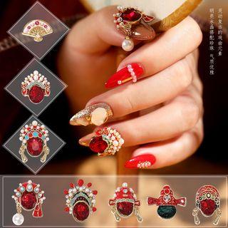 WGOMM - Chinese Style Rhinestone Nail Art Decoration