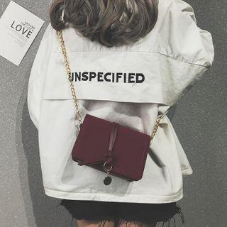 HOT KISS - Chain Flap Crossbody Bag