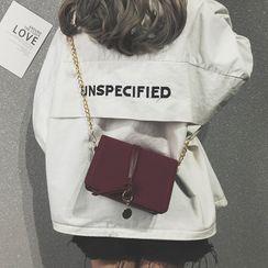HOT KISS(ホットキス) - Chain Flap Crossbody Bag