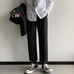 Wescosso - 寬松九分束腿運動休閑褲