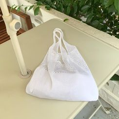 DEEPNY(ディープニー) - Perforated Knit Shopper Bag