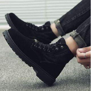 MARTUCCI - Platform Lace Up Short Boots