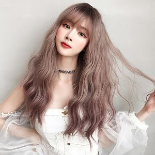 SEVENQ - Wavy Long Full Wig