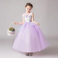 Doveark - Unicorn Girl Fluffy Dress