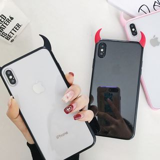 Scotmila - Horned Mobile Case - iPhone XS Max / XS / XR / X / 8 / 8 Plus / 7 / 7 Plus / 6S / 6S Plus