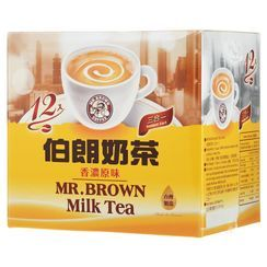 Mr.Brown - 3in1 Instant Milk Tea 17g x12
