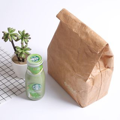SANNE - Kraft Paper Insulated Lunch Bag