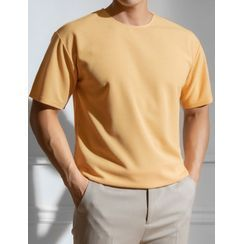 STYLEMAN - Pastel Crew-Neck T-Shirt