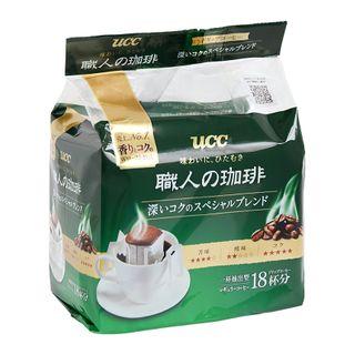 UCC - Craftsman Special Deep Rich Blend Drip Ground Coffee 7g x18