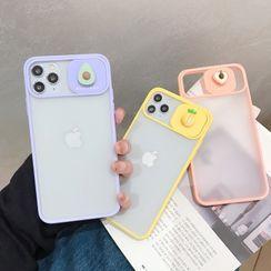 CeLLEAGUE - 3D Fruit Phone Case with Lens Cover - iPhone 11, 11 Pro, 11 Pro Max, XS Max, X/XS, XR, 8p/7p, 8/7