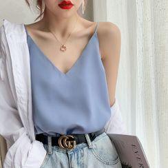 Shiodome - Genuine Silk Camisole Top