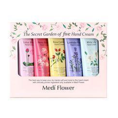 MediFlower - The Secret Garden of Five Hand Cream Set