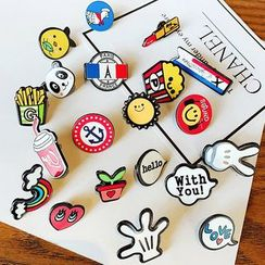 Caramella - Cartoon Brooch Pin (various designs)