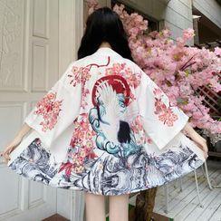 AKANYA - Print Kimono Jacket