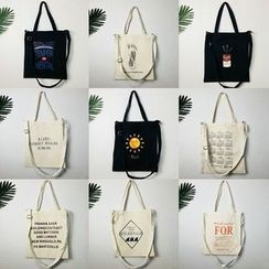 Woodword - Print Canvas Tote Bag (Various Designs)