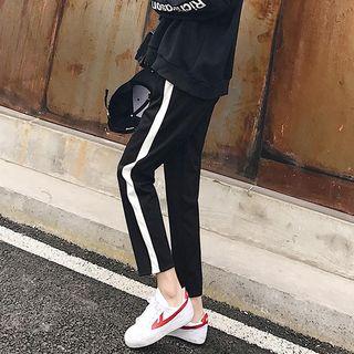 Chililala - 條紋運動褲