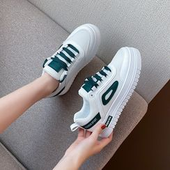 FRAISO - Platform Lace Up Sneakers